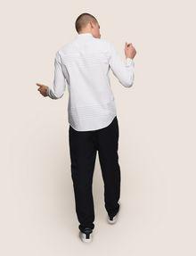 ARMANI EXCHANGE VARIEGATED STRIPE REGULAR-FIT SHIRT Long sleeve shirt Man e