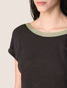 ARMANI EXCHANGE S/L Stricktop Damen b