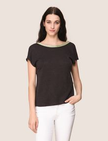 ARMANI EXCHANGE S/L Stricktop Damen f
