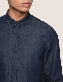 ARMANI EXCHANGE Denim Shirt Man b