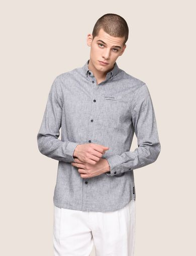 ARMANI EXCHANGE Plain Shirt Man F