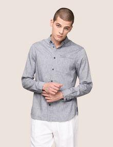 ARMANI EXCHANGE Plain Shirt Man f