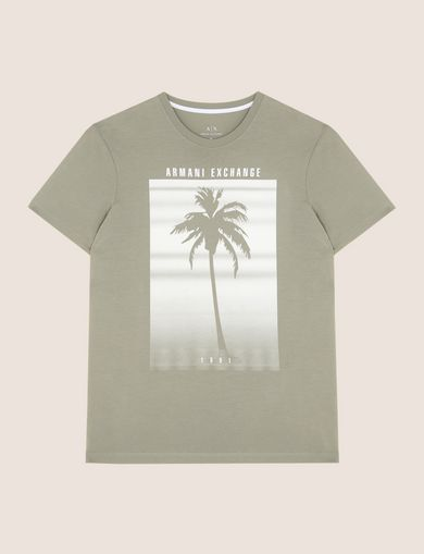 ARMANI EXCHANGE Camiseta gráfica Hombre R