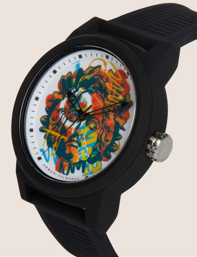AX STREET ART SERIES ALEX LEHOURS WATCH