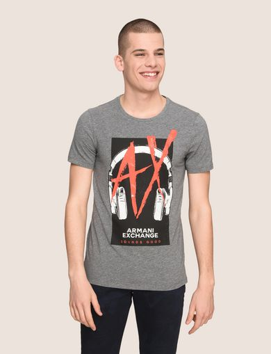 ARMANI EXCHANGE T-Shirt mit Grafik Herren F