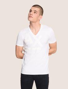 ARMANI EXCHANGE Vネック ロゴTシャツ ロゴTシャツ メンズ f