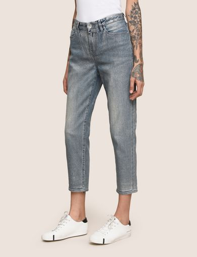 ARMANI EXCHANGE Boyfriend Denim Woman F