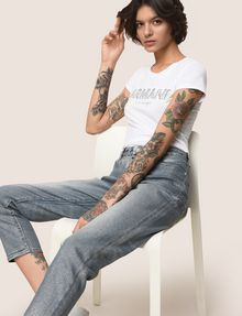 ARMANI EXCHANGE Boyfriend Denim Damen a