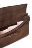 ALBERTA FERRETTI Brown handbag. SUEDE BAG Woman a