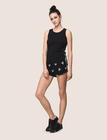 ARMANI EXCHANGE SIDE-LACE TANK TOP S/S Knit Top Woman d