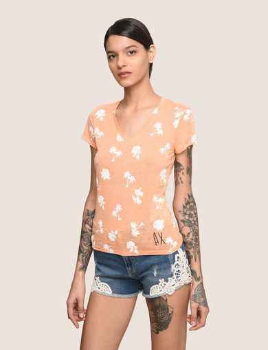 ARMANI EXCHANGE T-Shirt mit Grafik Damen F