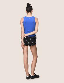 ARMANI EXCHANGE SIDE-LACE TANK TOP S/S Knit Top Woman e