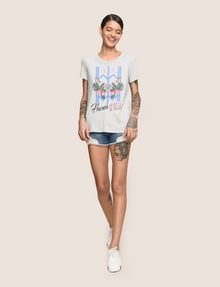 ARMANI EXCHANGE Graphic T-shirt Woman d