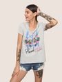 ARMANI EXCHANGE Graphic T-shirt Woman a