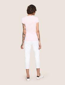 ARMANI EXCHANGE BILLBOARD SEQUIN LOGO TEE Logo T-shirt Woman e