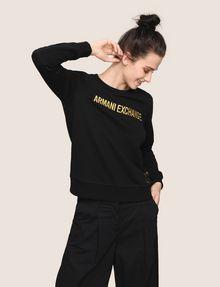 ARMANI EXCHANGE Fleece-Top Damen a