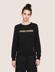 ARMANI EXCHANGE Fleece-Top Damen f