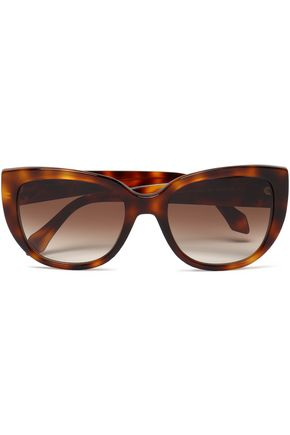 ROBERTO CAVALLI Cat-eye tortoiseshell acetate sunglasses