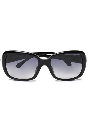 ROBERTO CAVALLI Square-frame acetate sunglasses
