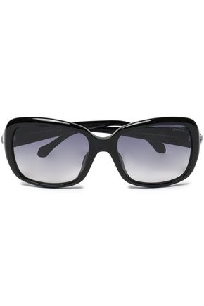 square-frame-acetate-sunglasses by roberto-cavalli