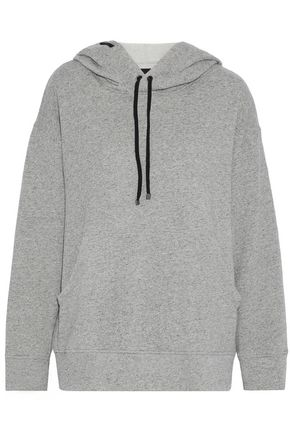 KORAL Cotton-terry hoodie