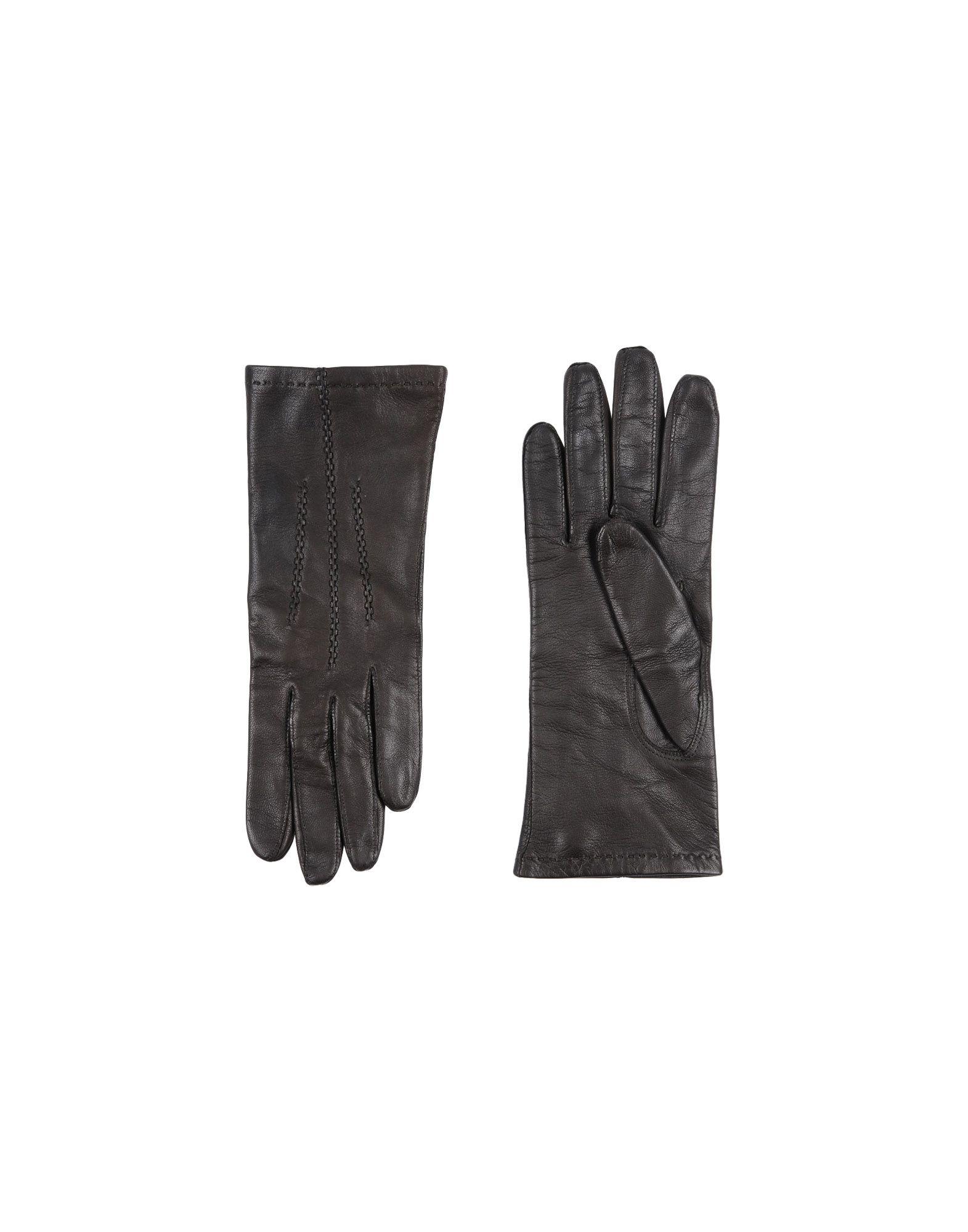 CAUSSE GANTIER Gloves in Dark Brown