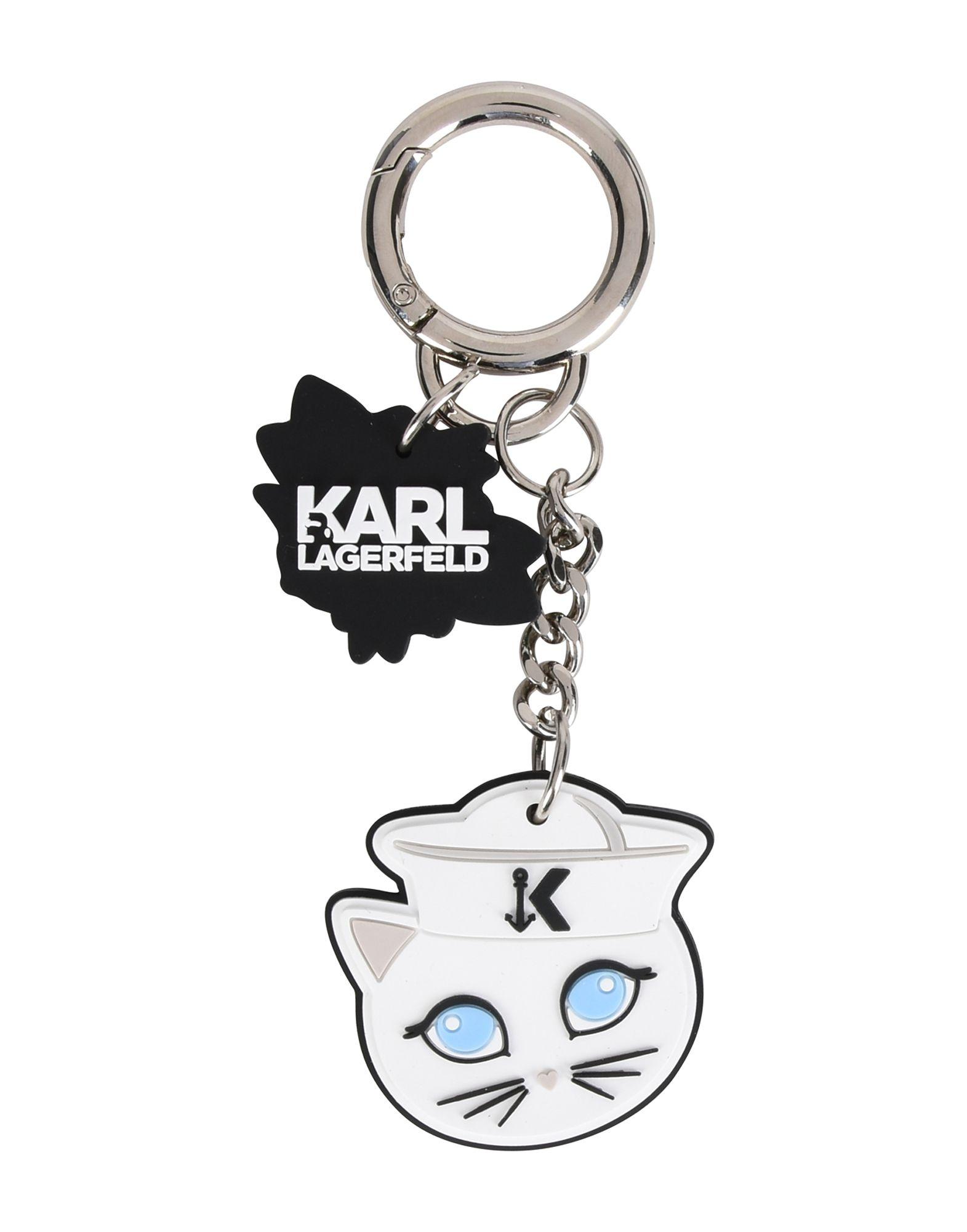 KARL LAGERFELD Брелок для ключей визитница karl lagerfeld karl lagerfeld ka025dwauow8