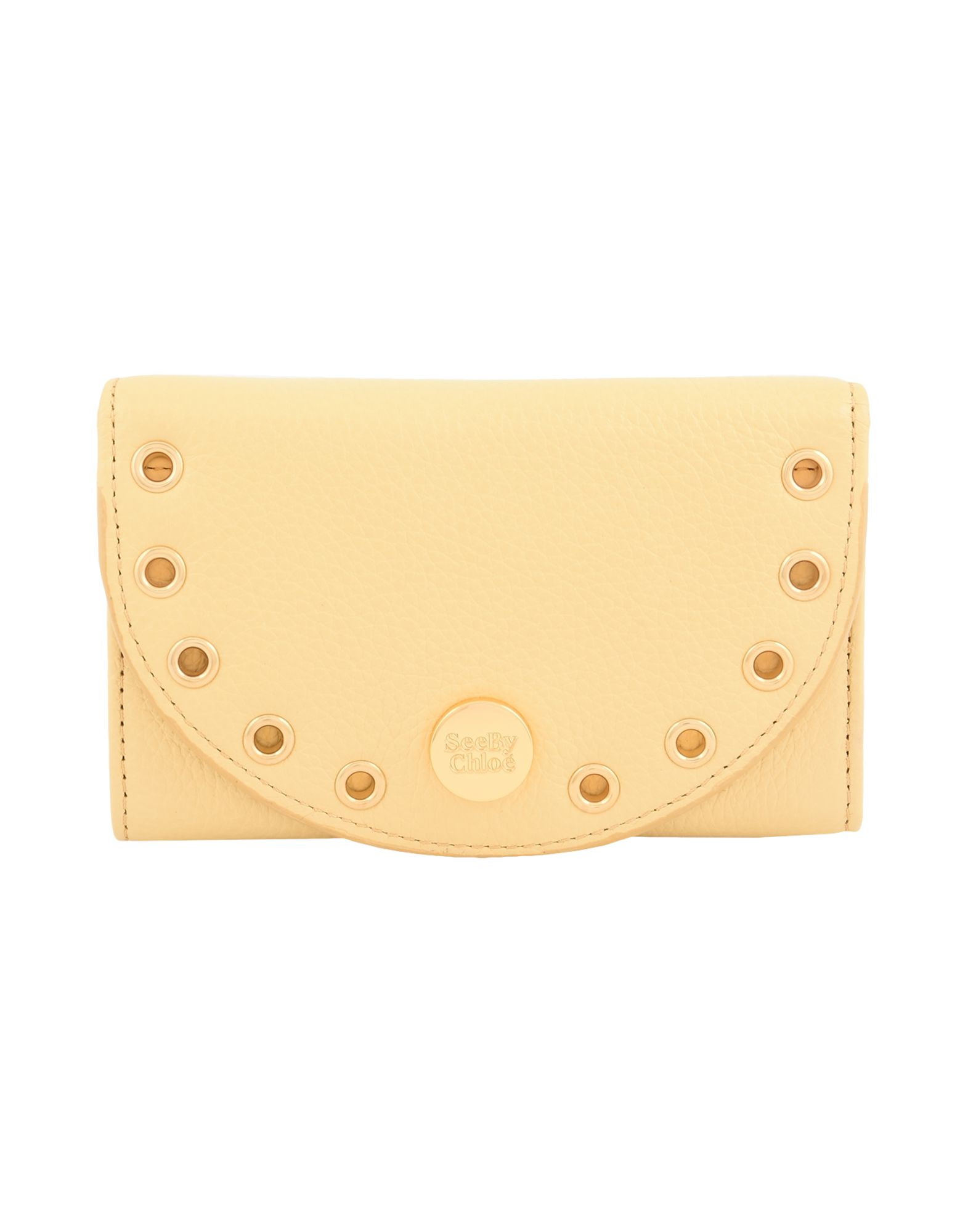 レディース SEE BY CHLO KRISS MEDIUM WALLET 財布  イエロー