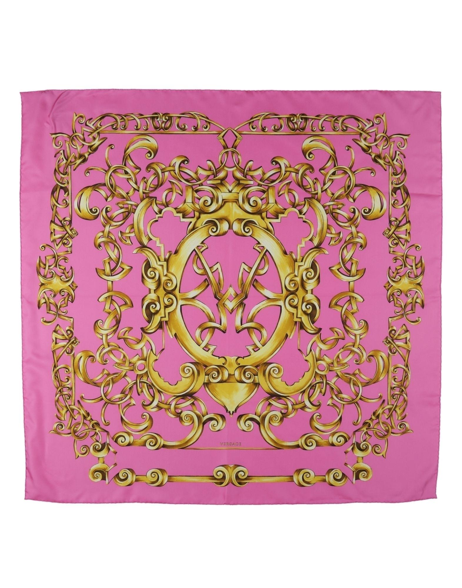 VERSACE Платок футболка versace разноцветный