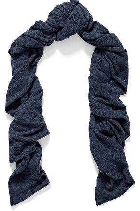 AUTUMN CASHMERE Marled cashmere scarf