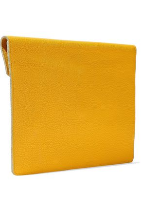 DOLCE & GABBANA Textured-leather tablet case