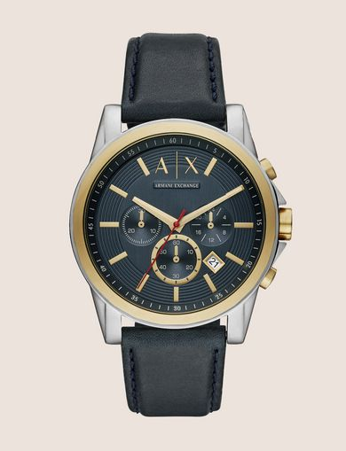 GOLD-TONED CHRONOGRAPH WATCH