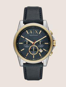 ARMANI EXCHANGE GOLD-TONED CHRONOGRAPH WATCH Watch Man f