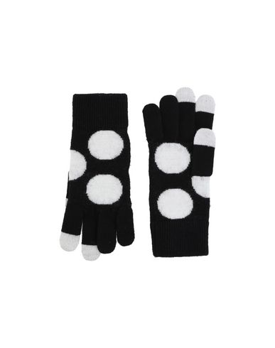 MARC BY MARC JACOBS Damen Handschuhe Schwarz Größe one size 100% Merinowolle