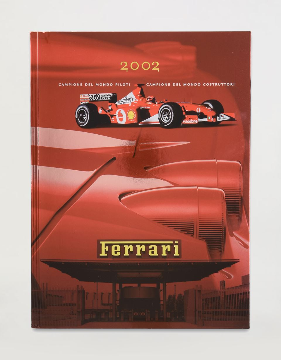 Scuderia Ferrari Online Store - Ferrari 2002 Yearbook - Yearbooks