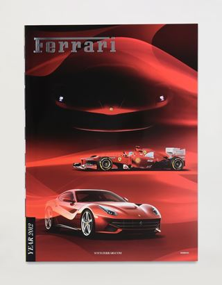 Scuderia Ferrari Online Store - Ferrari 2012 Yearbook - Yearbooks