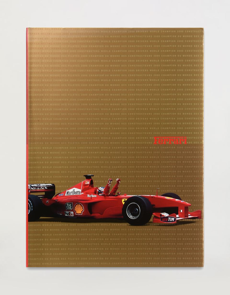 Scuderia Ferrari Online Store - Ferrari 2000 Yearbook - Yearbooks