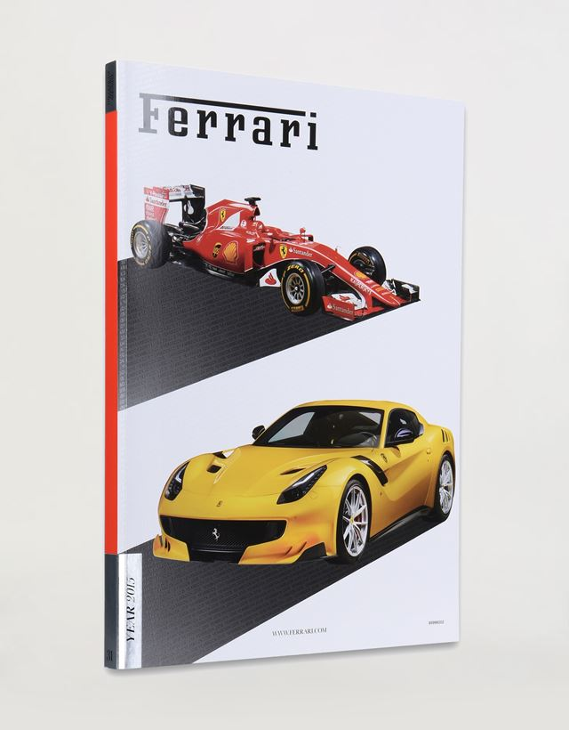 Scuderia Ferrari Online Store - Ferrari 2015 Yearbook - Yearbooks