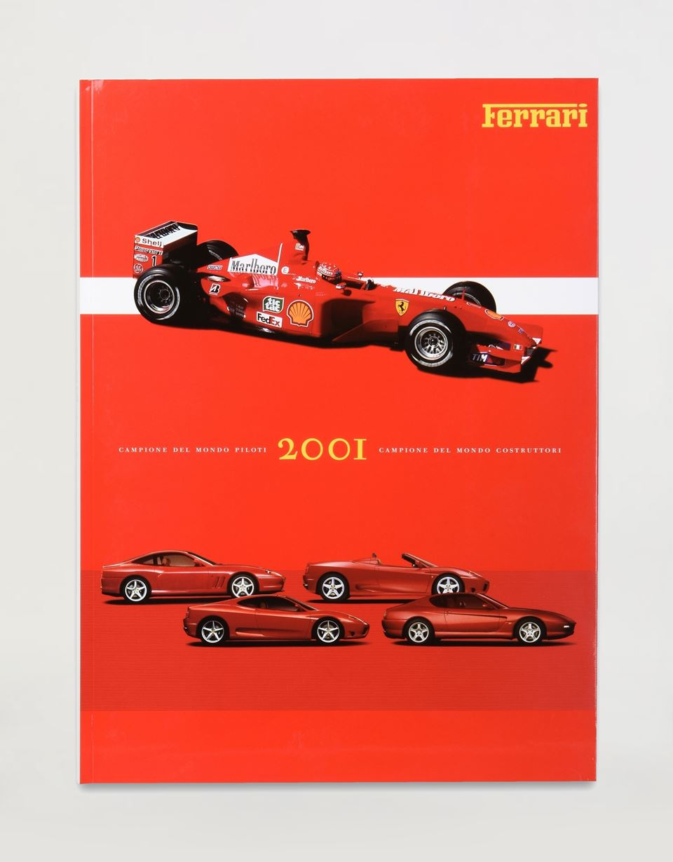 Scuderia Ferrari Online Store - Album Ferrari 2001 - Albums de l'année