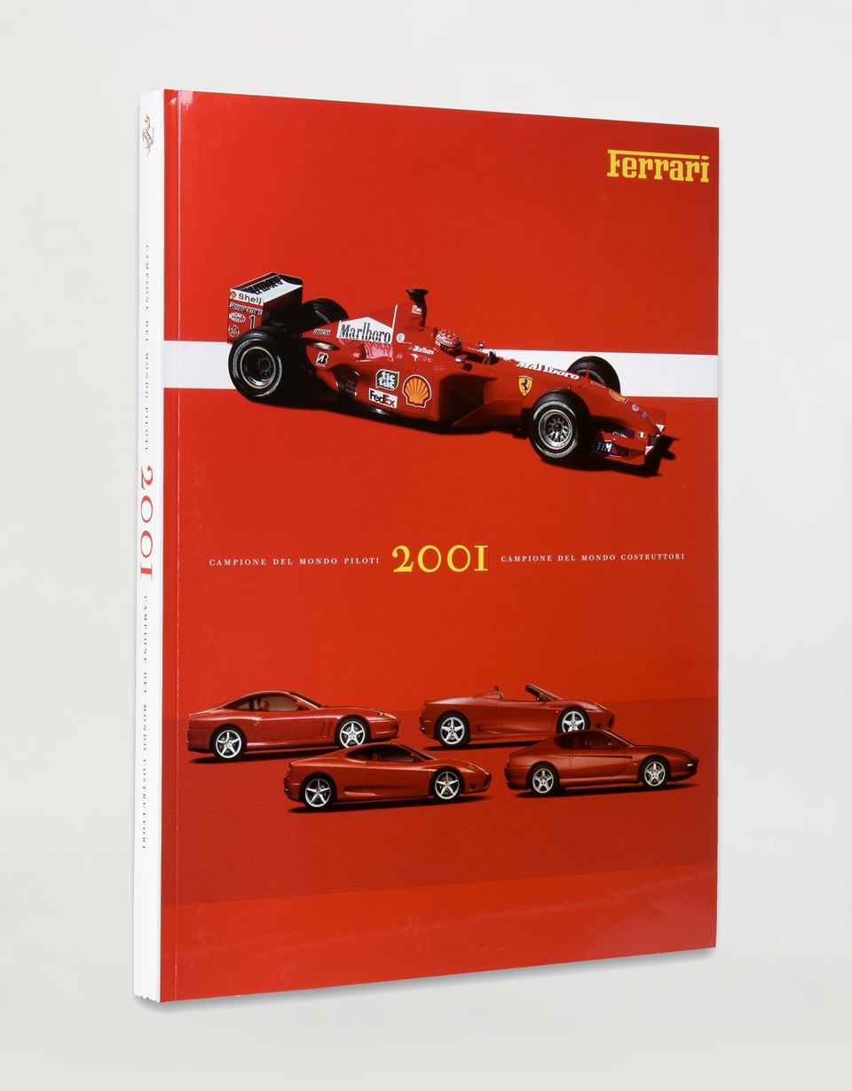 Scuderia Ferrari Online Store - Ferrari 2001 Yearbook - Yearbooks