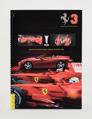 Scuderia Ferrari Online Store - The Official Ferrari Magazine number 3 - Yearbook 2008 - Yearbooks