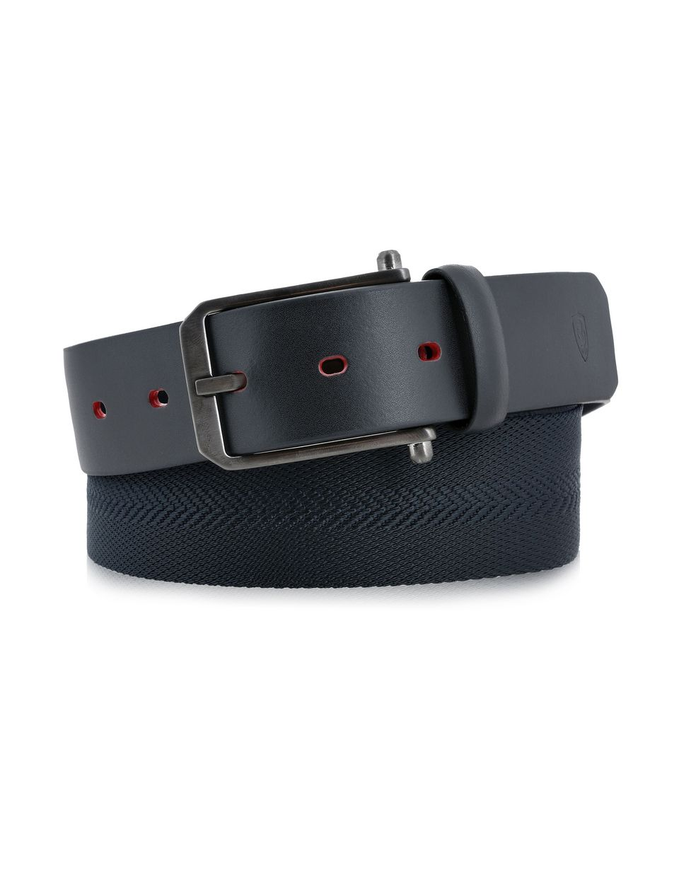 Scuderia Ferrari Online Store - Handmade ribbon belt, Made in Italy - Regular Belts