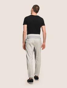 ARMANI EXCHANGE サイドロゴ スウェットジョガーパンツ フリースパンツ メンズ e