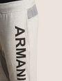 ARMANI EXCHANGE サイドロゴ スウェットジョガーパンツ フリースパンツ メンズ b