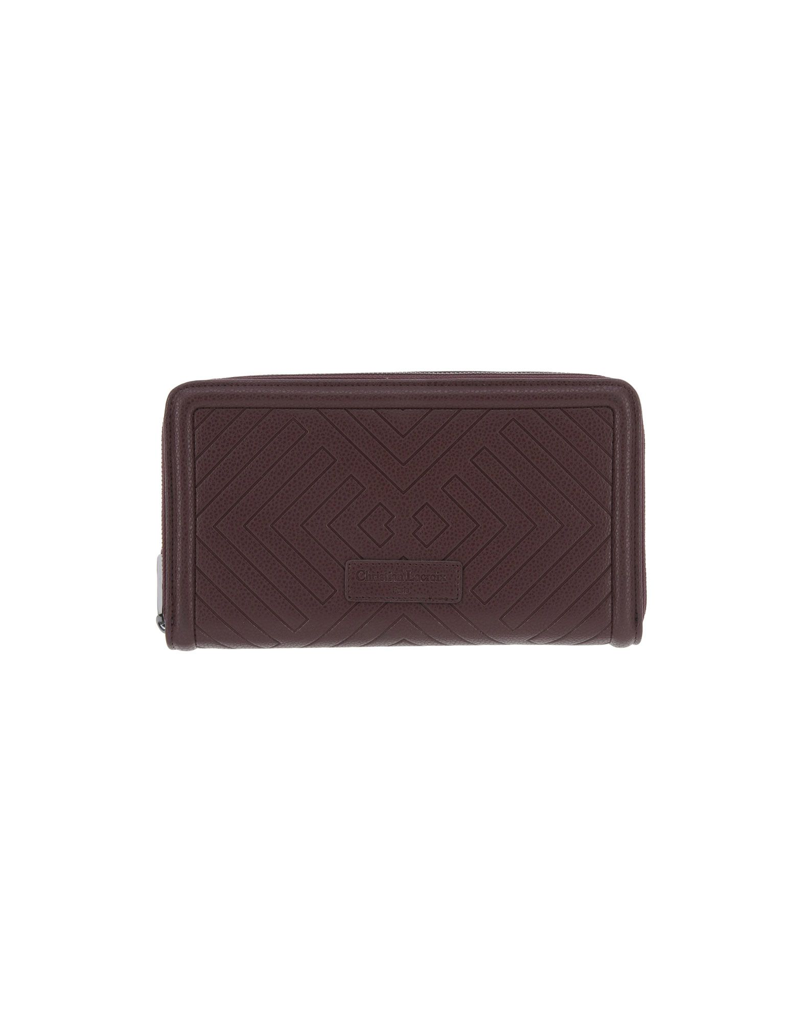 CHRISTIAN LACROIX Wallet in Cocoa
