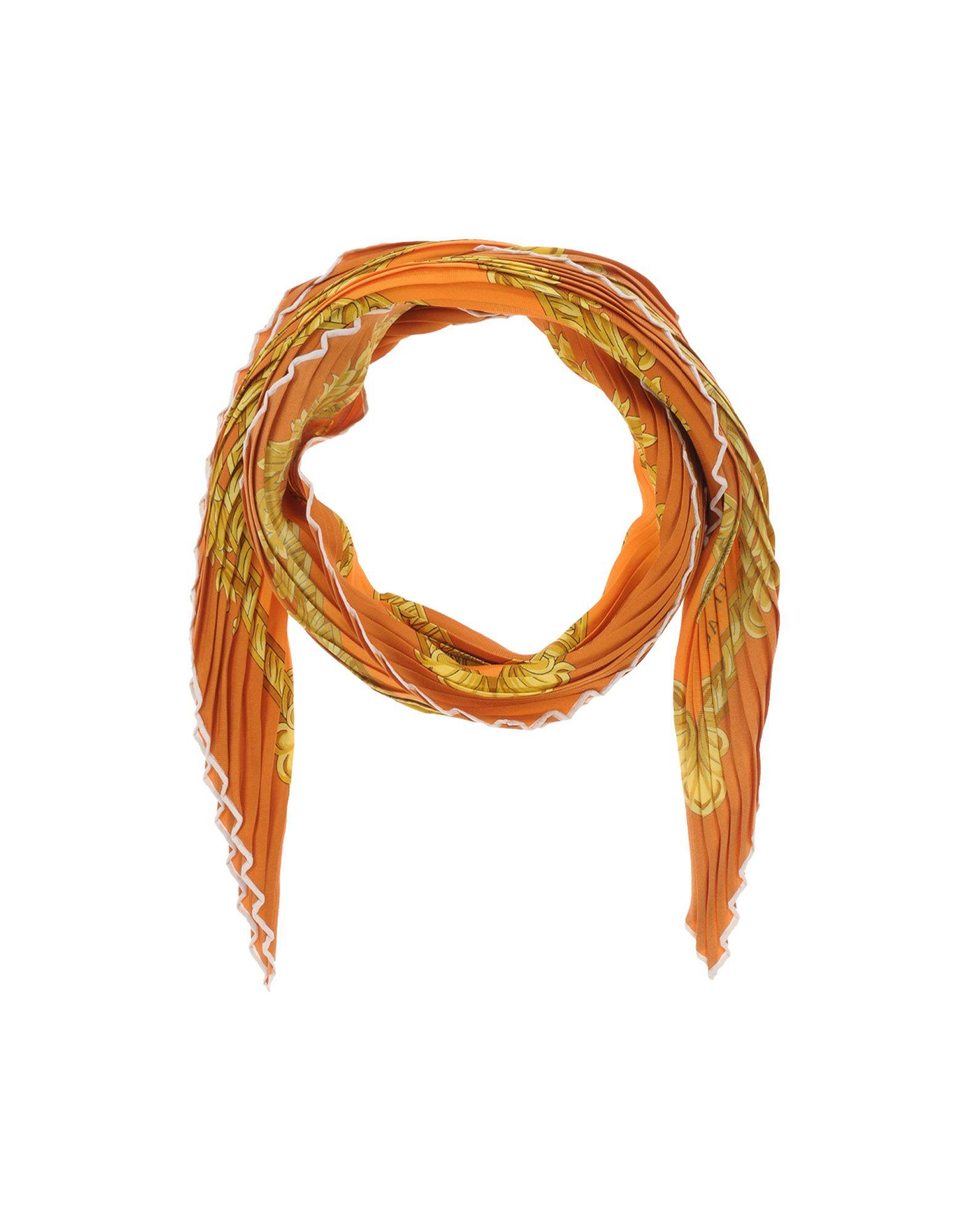 VERSACE Шарф шарф versace серый