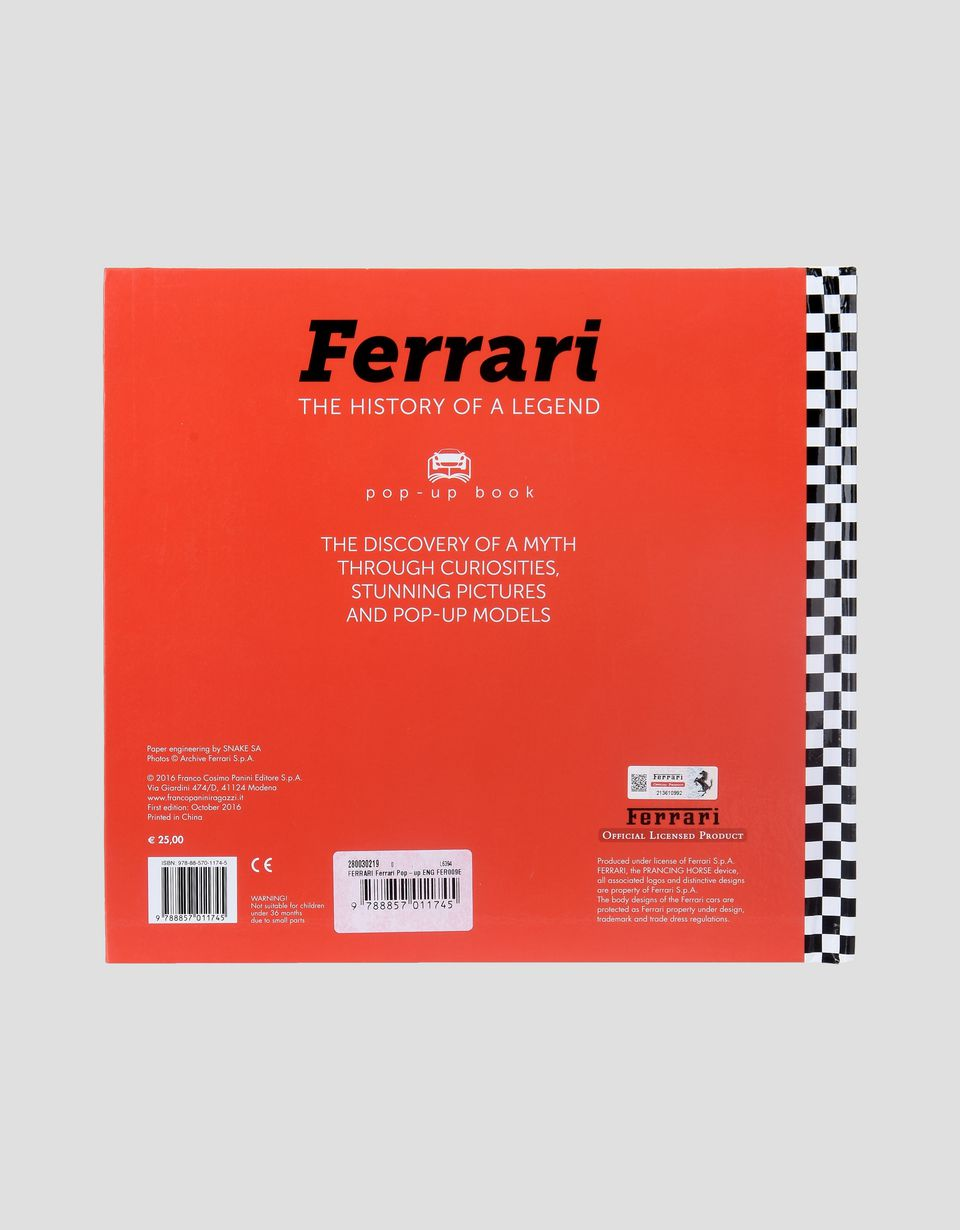 Scuderia Ferrari Online Store - Ferrari, The History of a Legend - English edition - Magazines & Others