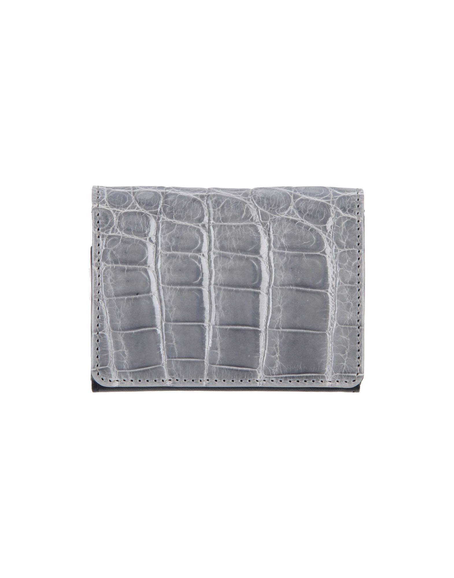 《送料無料》JASON BRIGGS Paris レディース 財布 グレー 革