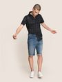 ARMANI EXCHANGE Denim-Shorts Herren a