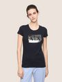 ARMANI EXCHANGE Logo T-shirt Woman f